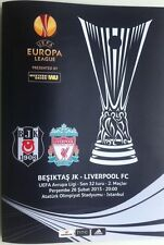 Football European Club Fixture Programmes