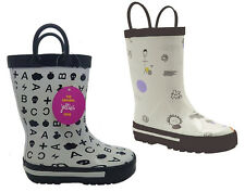 Boy's Toddlers Gumboots Jellies Journey or Thunder Boots Size 4-12 Boot Wellies