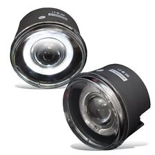 2005-2009 Dodge Dakota 2007-2009 Durango Clear Halo Projector Fog Lights PAIR