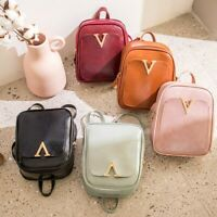 Women Girls Backpack Shoulders Small Bag Letter Fashion Student Messenger Bags
