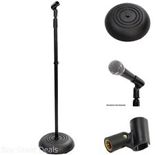 Pyle-Pro PMKS5 Compact Base Black Microphone Stand