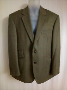 Gurteen Esquire Herringbone Wool Jacket. Size 40S.