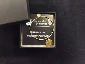 """Authentic Alex and Ani Initial """"L"""" Russian Gold Bracelet NWT/Great Gift"""