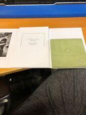 MedBag Green Suede & Bags & Booklet Van Cleef & Arpels Ring Packaging Pouch,