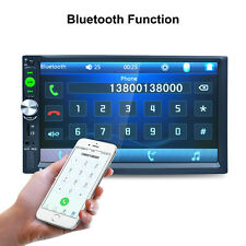 """7"""" HD Touch Screen 2 DIN Car Stereo MP5 MP3 Player Bluetooth Touch Screen Radio"""
