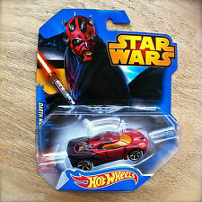 Disney STAR WARS Hot Wheels DARTH MAUL #9 diecast by Mattel Sith Phantom Menace