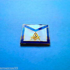 Master Mason Apron Style Lapel Pin