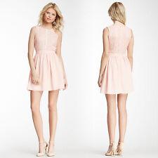 Romeo & Juliet Couture - Medium Lace & Mesh Bodice Dress