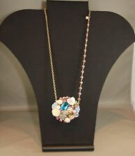 Betsey Johson Vintage Bow Cluster Necklace Brand New/w tag Long length