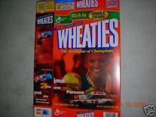 Benny Parsons Wheaties Cereal Box Nascar Hall Of Fame North Carolina