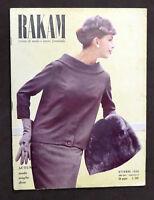 Rakam - Rivista di moda e lavori femminili - Ottobre 1956 - Cartamodello