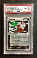 Pokemon PSA 10 Shiftry Ex Holo - Ex Crystal Guardians #97/100 Gem Mint