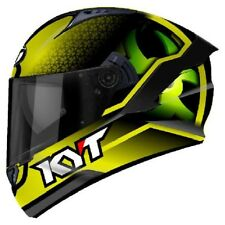 Casco integrale moto KYT NF-R NFR Hyper Fluo giallo helmet Taglia Size S
