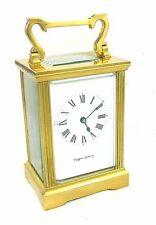 Brass Antique Mantels & Carriage Clocks 1900-Now