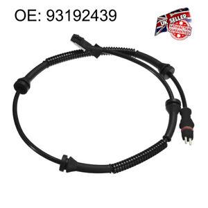 Front ABS Sensor for Opel Vauxhall Vivaro Nissan Primastar Renault Trafic MK2