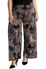 flared polyester plus size trousers for women | ebay