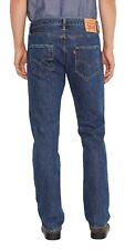 Levis Herren 501 Denim Jeans lightwash Stonewash-Schwarz Indigo Onewash Red Tab Levi