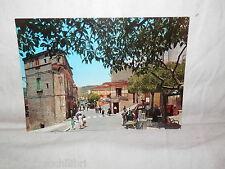 Vecchia cartolina foto d epoca di Marsico Nuovo viale margherita Rotalfoto viale