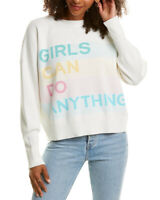 Zadig & Voltaire Nell Gris Jacquard Sweater Women's