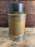 "Gundlach- Manhattan 5.25"" Lens ROCHESTER Ny Brass Lens Steam Punk"