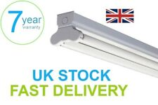LED T8 4ft 1200mm Twin Batten Fitting Fixture - without LED tubes