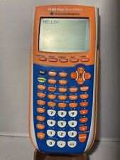 Texas Instruments TI-84 Plus Silver Edition Graphing Calculator- Orange Tested