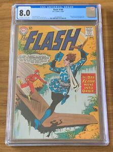 DC Comics The Flash 148 CGC 8.0 The Boomerang Alley Award Winning Back-Up Story