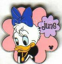 Disney Pin Collection Global Lanyard Series Flower June the Duck WDW