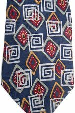 "Liberty of London Men's Silk Tie 58"" X 4"" Multiple Color Geometric"