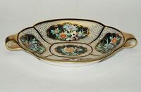 ANTIQUE c.1911 MORIMURA NORITAKE HAND PAINTED GILDED FLORAL PANEL PLATE