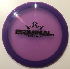 First Run Dynamic Discs Lucid Criminal 173 grams