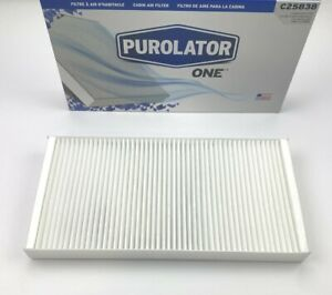 New Purolator C25838 Cabin Air Filter For 2003-2011 SAAB 9-3 and 2011 9-4X