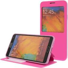 similicuir Pochette pour téléphone cellulaire pour Samsung Galaxy Note 3 Rose