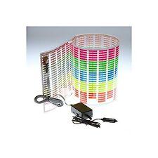 Docooler Car Sticker Music Rhythm LED Flash Light Lamp Sound Activated Eq... New