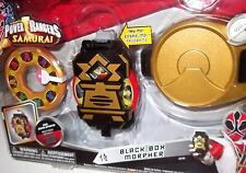 ✰✰ ON SALE! ✰✰ Power Rangers Samurai Electronic Black Box Morpher MOC Samuraizer