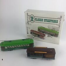 2 Classic Streetcars - HO Scale - Powell & Mason St. and Desire St. Lot Of 2