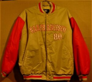 SAN FRANCISCO 49ERS #80 JERRY RICE NFL JACKET