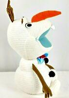 "Disney Store Original Frozen Olaf 17"" Soft Plush Stuffed Snowman Toy Character"