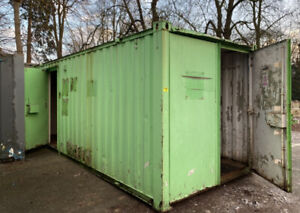 Site office / storage container, 50/50, office/store, shipping, Site Cabin