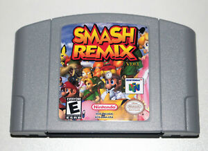 Smash Remix v1.0.1 Game For Nintendo 64 N64 NTSC-U/C US Super Smash Bros Mario