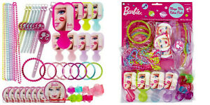 BARBIE 48 piece Mega Value Pack Favours Loot Kids Birthday Party