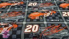 159005690 - Tony Stewart 20 Home Depot NASCAR Cotton Fabric By The Yard