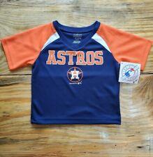 Houston Astros Toddler Navy Primary Team Logo T-Shirt NWT