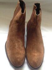 Paul Smith Men's Shoe Joyce Brown Leather Boots.