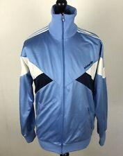 Vintage 1990's Adidas Track Jacket Men's Size M Trefoil Full-Zip Tracksuit Top