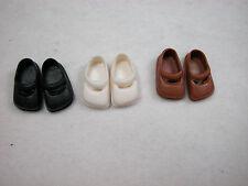 Heidi Ott Dollhouse MIniature 1:12 Scale 3pair Teenager's  Shoes #XZ754 C