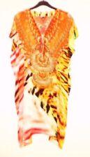 Embroidered V-Neck Regular Size Tops for Women