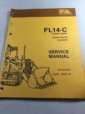 Fiat Allis Fl14 C Crawler Loader Undercarriage Equipment Service Manual