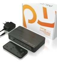 CSL - HDMI 2.0 distributor 4k 60Hz - 3 port switch switch including remote...