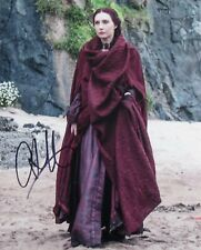 Carice Van Houten as Melisandre Game Of Thrones 10 x 8 Signed Photo.